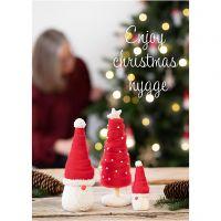 Poster d'ispirazione, Natale tradizionale, misura 21x30+29,7x42+50x70 cm, 4 pz/ 1 conf.