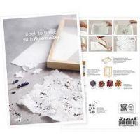 Cartolina, Ritorno alle origini con la fabbricazione della carta, A5, 14,8x21 cm, 1 pz