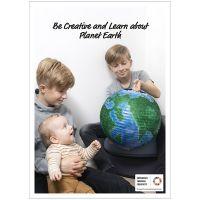 Poster ispirazionale, Crea e impara a conoscere il pianeta Terra, 50x70, 29,7x42, 21x30 cm, 4 pz/ 1 conf.