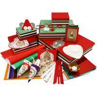 Promozione tradizionale natalizia, colori asst., 1 set