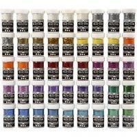 Glitter, colori asst., 46x20 g/ 1 conf.