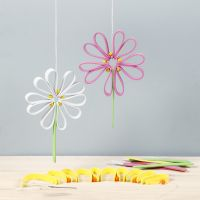 Colourful flowers from Foam Rubber