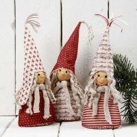 Decorazioni di Natale in feltro decorato