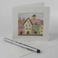 A Watercolor Greeting Card