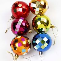 Decorated Christmas Baubles