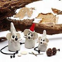 Un topolino natalizio