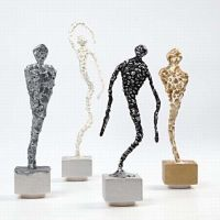 Silk Clay Sculptures on a Stand