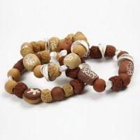 Ceramic Beads on Elastic Beading Cord