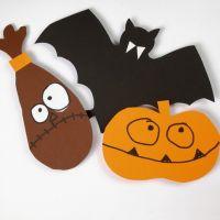 Cartamodelli per decorazioni di Halloween