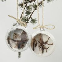 Flat Christmas Baubles