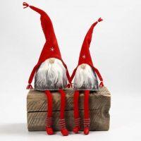 Folletti di feltro con calze lunghe tubolari