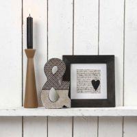 Oggetti di arredamento pitturati e decorati con carta découpage Vivi Gade