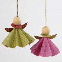 Angeli di carta origami Vivi Gade