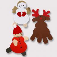 Renna e altri motivi di Natale in cartoncino