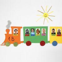 Una presentazione di foto su una locomotiva fatta con il fommy