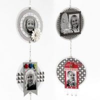 Scrapbooking Mobile with Photos, Design Paper & decorative Items