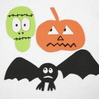 Forme magnetiche di Halloween in gomma EVA