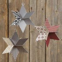 Stella 3D di carta fustellata Vivi Gade Design