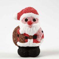 Babbo Natale di polistirolo coperto di Foam Clay