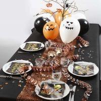 Decorare una tavola di Halloween