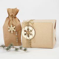 Confezione regalo impreziosita da decori dorati