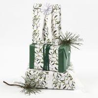 Confezione regalo con carta tessuto e carta fantasia Vivi Gade