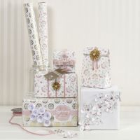 Confezione regalo con materiali Vivi Gade in fantasia romantica