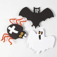 Decorazioni in cartoncino per Halloween