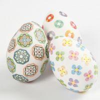 Uova decorate con Masking Tape
