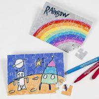 Puzzles da colorare e decorare