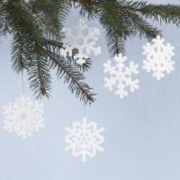 Fiocchi di neve con perline Nabbi