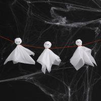 Fantasmi di carta velina con occhietti finti