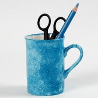 La tecnica tamponata su porcellana