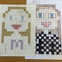 Pixel Art a punto croce