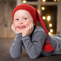 Berretto da Elfo fatto a maglia