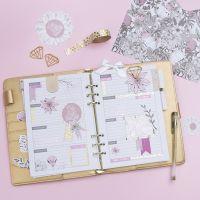 Planning di 5 settimane decorato, per diari e agende