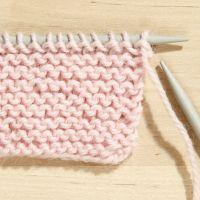 Come lavorare punti base a maglia (punti giarrettiera)