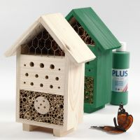 Un Insect Hotel o un Bugs B & B dipinto con pittura Craft Paint