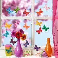 Colorate farfalle in Fimo