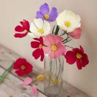 Cosmo fiori di carta crespa