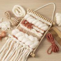 Tessitura per principianti: impara a tessere su un telaio
