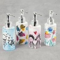 Bellissimi distributori di sapone con disegni e stampe